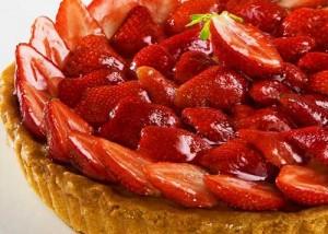 tartaleta de fresa