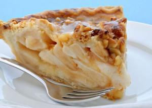 torta de manzana nueces y canela